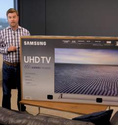 samsung mu8000 unboxing and setup guide get the most out of uhd digital trends [ 1920 x 1080 Pixel ]