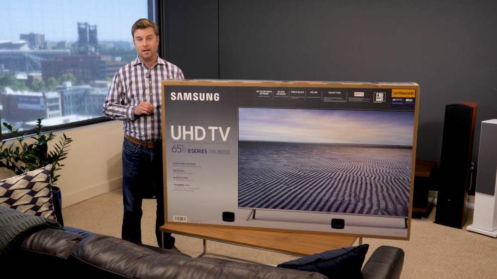medium resolution of samsung mu8000 unboxing and setup guide get the most out of uhd digital trends