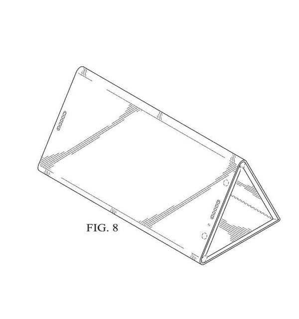 Intel Patent Envisions a Phone That Can Fold out to Become