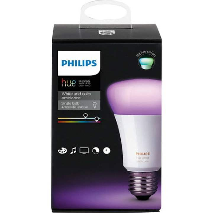 best buy black venerdì early deals philips tonalità bianca e colore ambiance a19 wi fi lampadina led intelligente multicolor