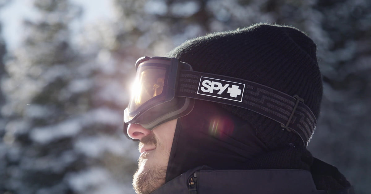 Spy Ace EC Electronic Ski Goggles Change Tints With The