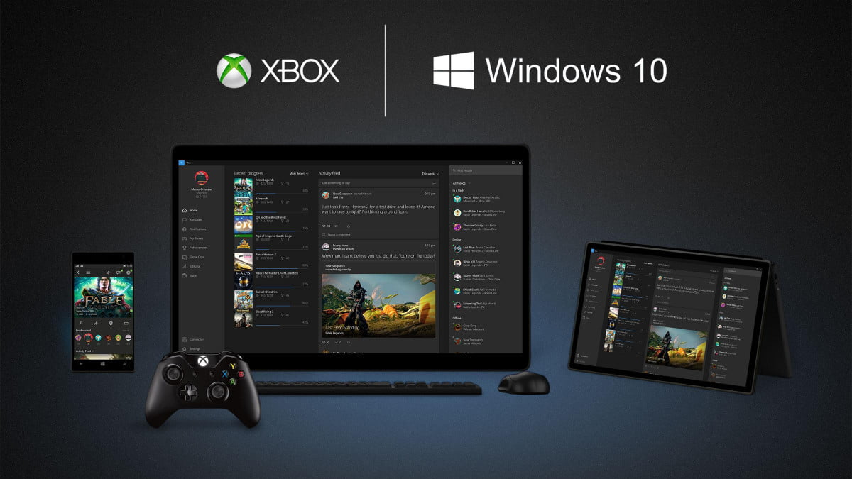 Windows 10 Adds An Xbox App And Gamedvr Features Digital