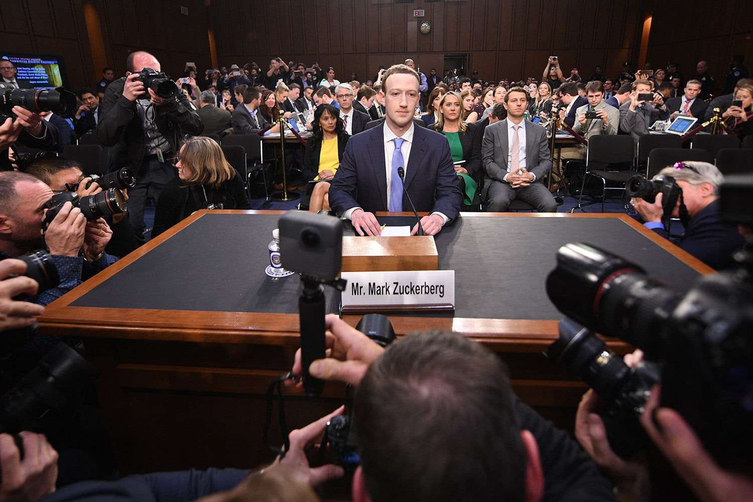Zuckerberg Testimony Congress