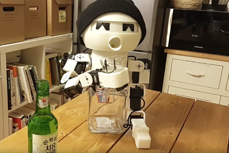 drinky the robot means