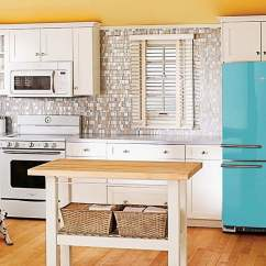 Ge Artistry Kitchen White Tile 16 Colorful Refrigerators You Ll Wish Had In Your House Digital Trends