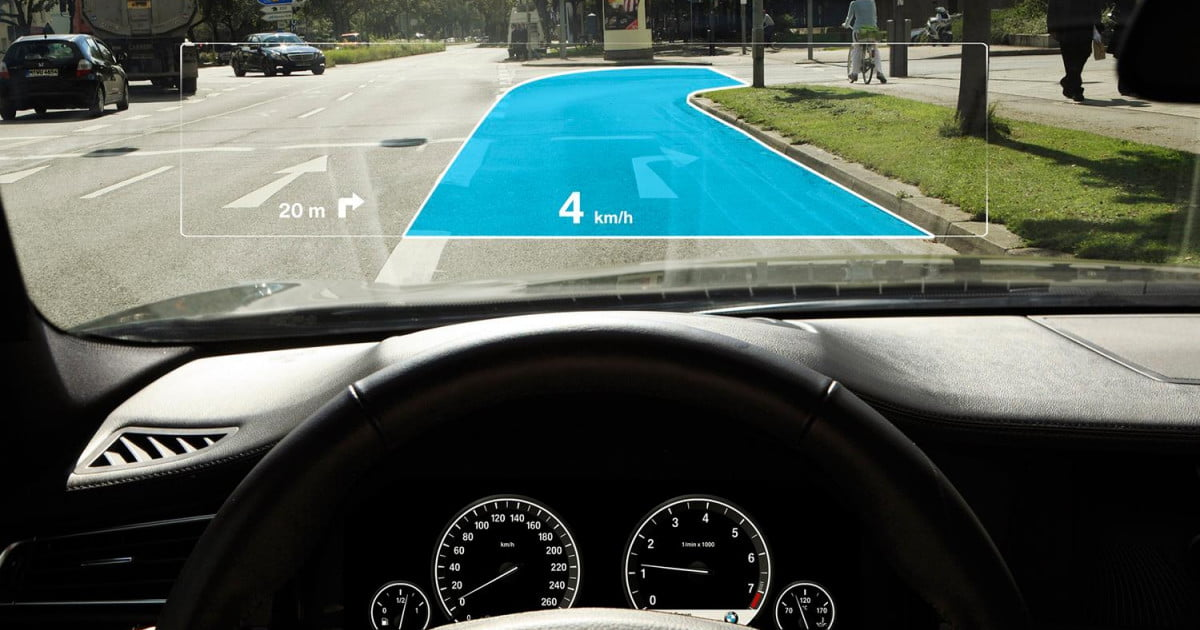 The Future Of Jaguar S Augmented Reality Laser Hud