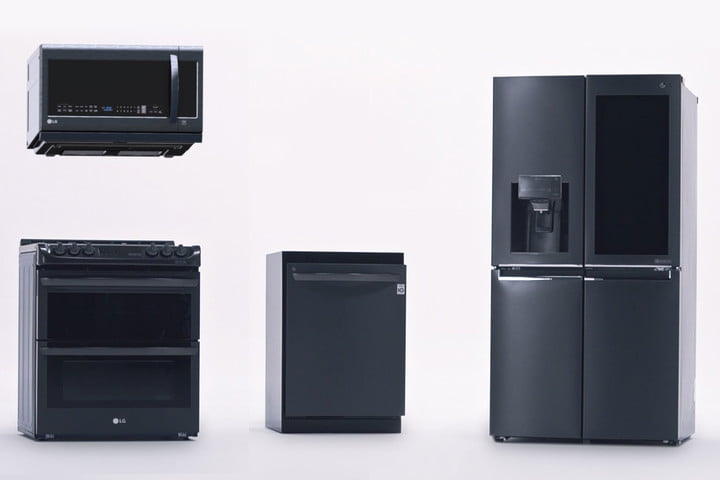 lg kitchen appliances lights ideas debuts smart fridge oven and dishwasher at ces 2018 digital the of future with fridges dishwashers ovens