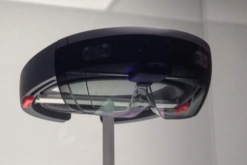 microsoft hololens hands on bottom angle