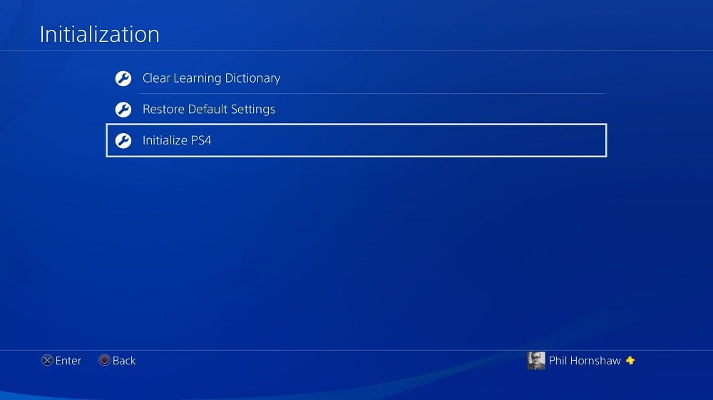 How To Factory Reset A PS4 Digital Trends