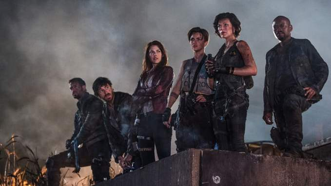 Image result for Resident Evil the final chapter