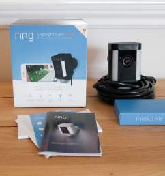 ring spotlight cam wired review box [ 1500 x 1000 Pixel ]