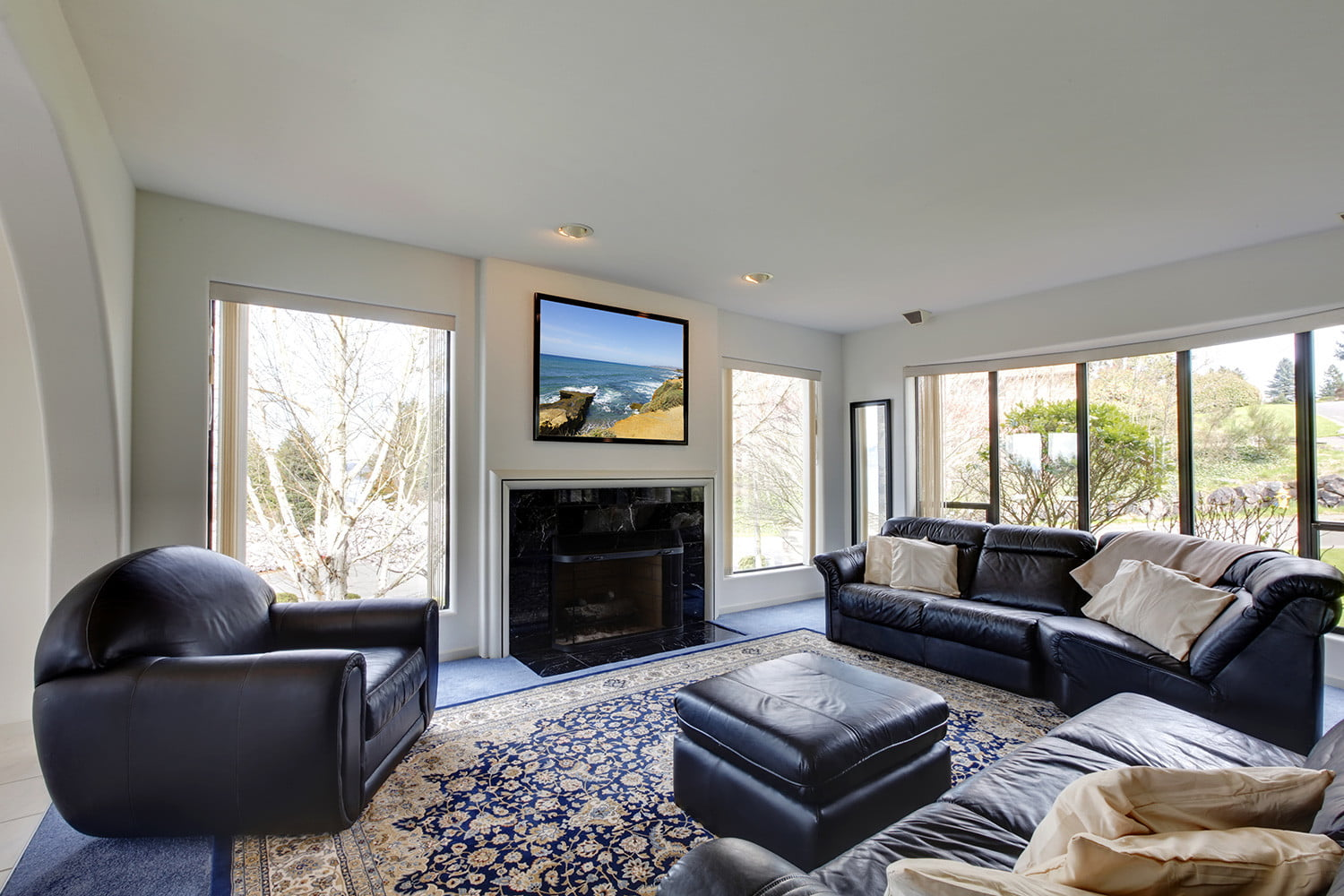 living room design ideas tv over fireplace good colors paint why you shouldn t mount your above digital trends please dont the 1