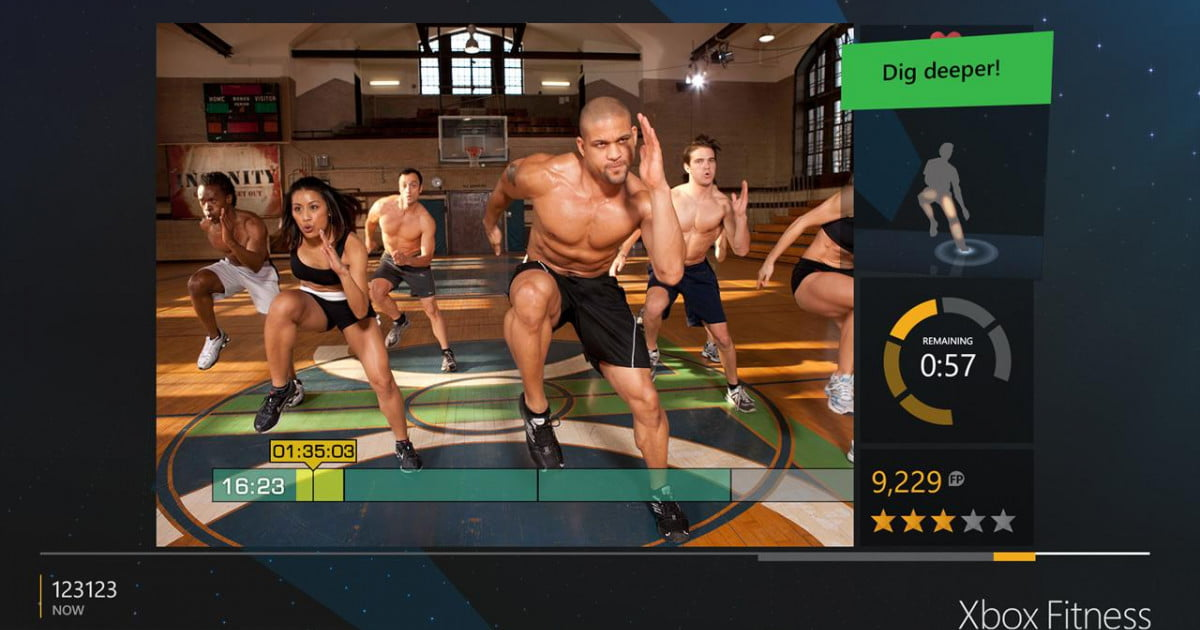 Xbox Fitness Brings Celebrity Trainers Kinect Workouts To