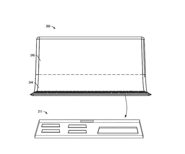Lenovo Patent Hints at a Future Laptop With a Folding OLED