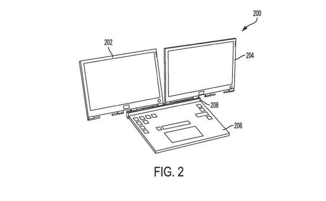 Dell Patents a Crazy Laptop With Two Detachable Screens