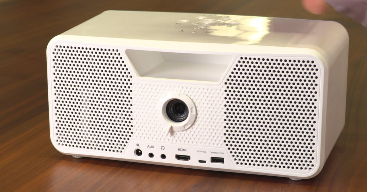 Dahsbon Flicks Projector And Bluetooth Speaker Video