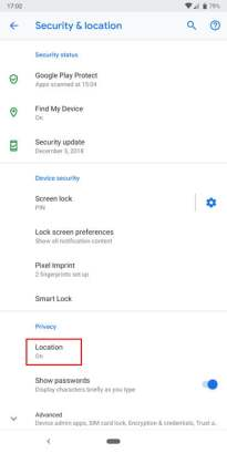 stop apps tracking location android 2