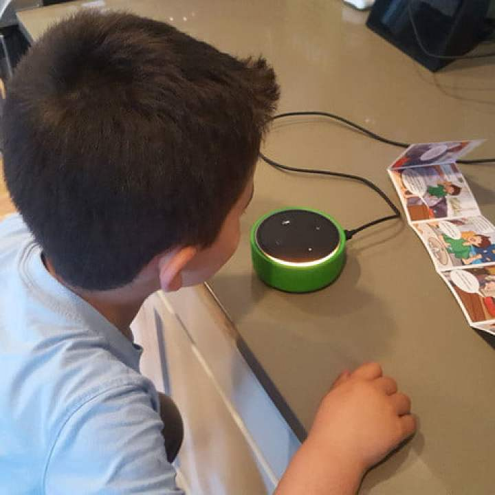 Recensione Amazon Echo Dot Kids Edition
