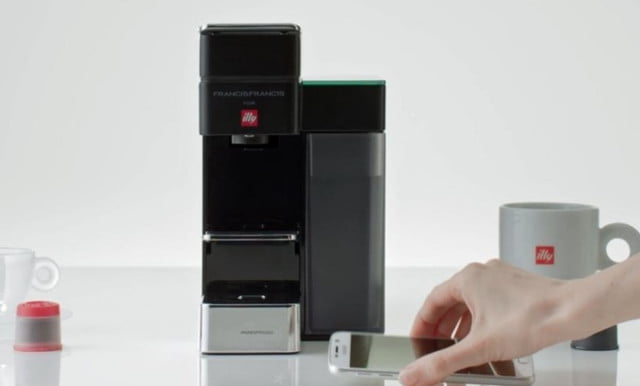 The Illy Y5 with Amazon Dash will make sure you never run