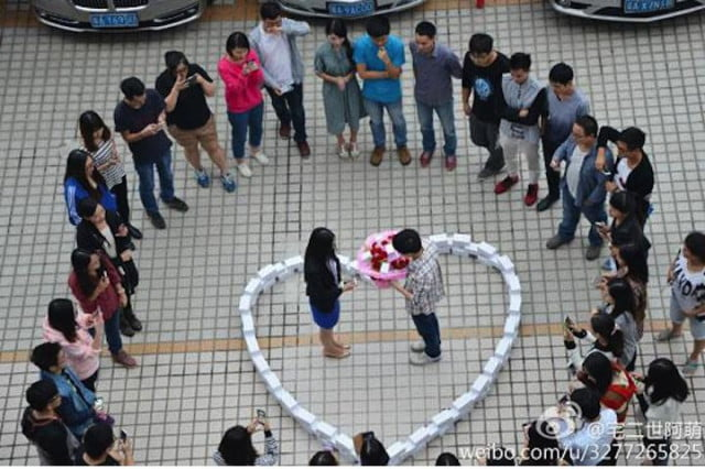 iPhone Marriage Proposal Heart