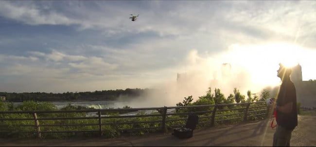 quadcopter niagara