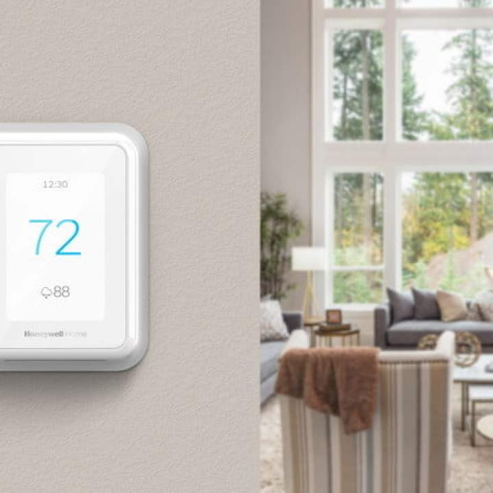 honeywell home resideo new termostati serie t sensori intelligenti ces 2019 tstat a parete in