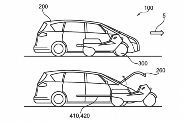 Ford Tries to Patent Car with Integrated Autonomous