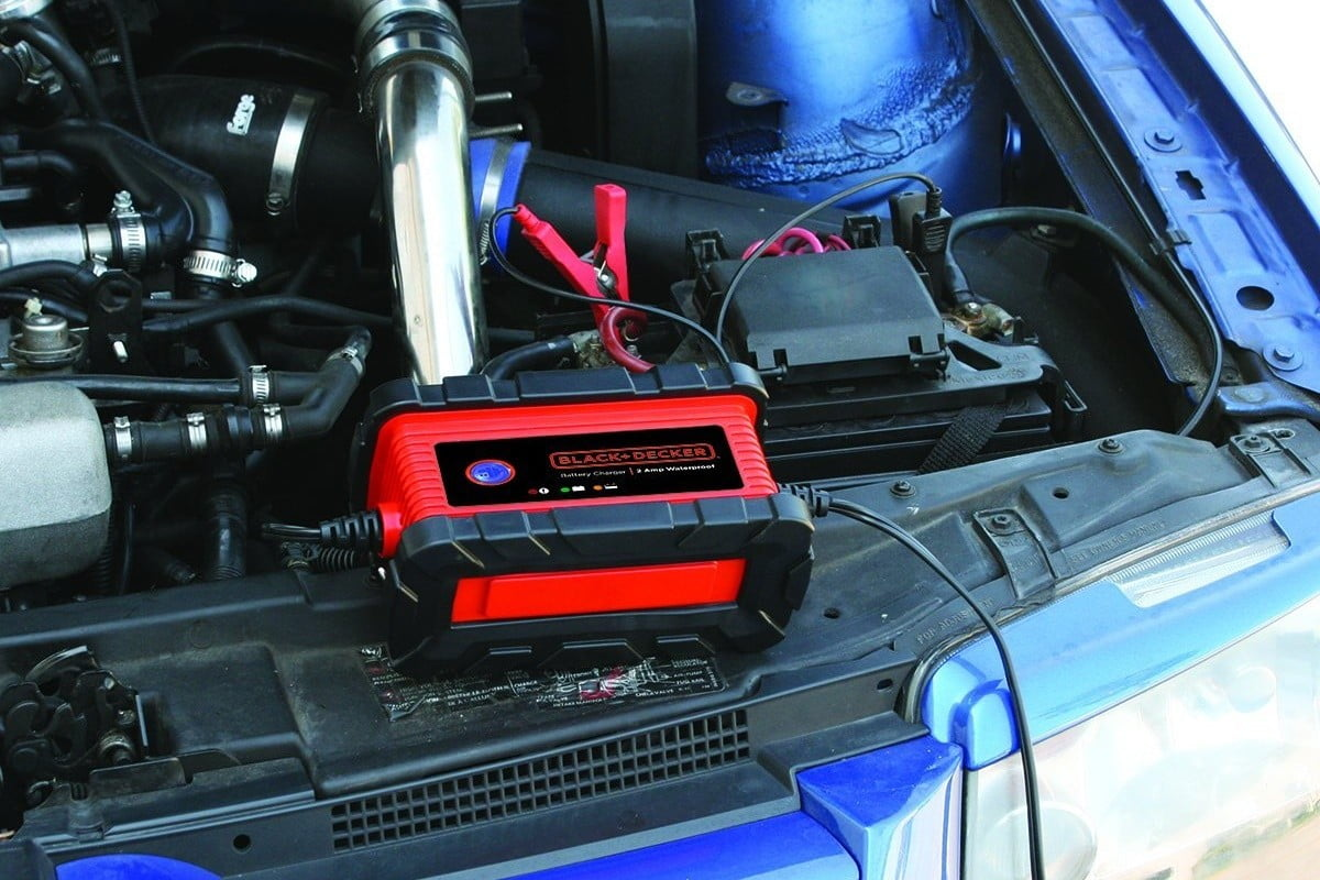 Car Battery Charger With Transistors