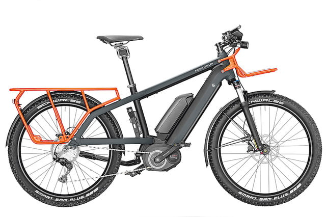 Riese & Müller's Latest Ebike has Room for You and Three Kids