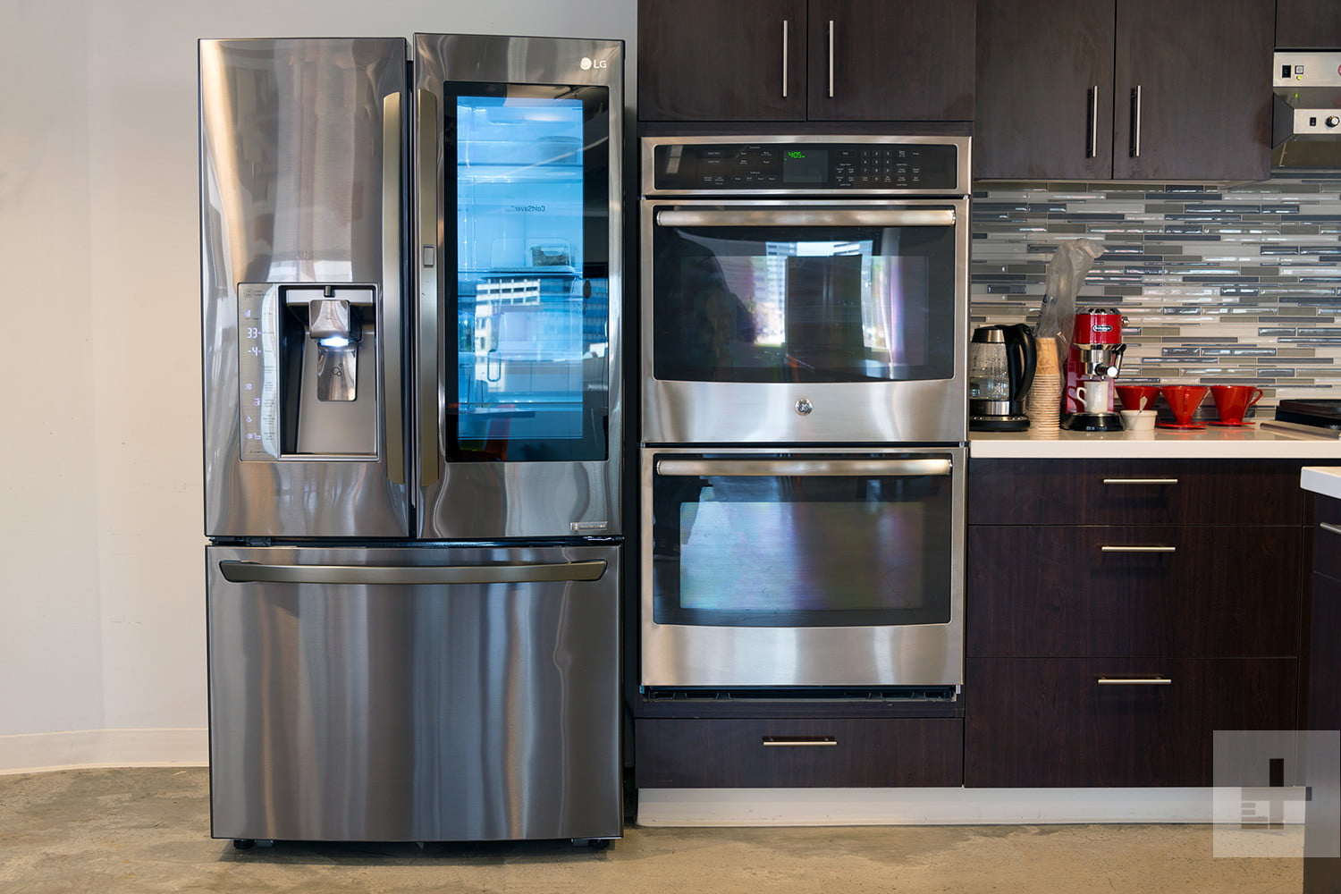 refrigerator for small kitchen stacked stone outdoor the best refrigerators stowing your food digital trends