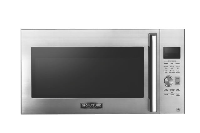 lg kitchen suite range with downdraft ventilation signature is a luxury smart appliance brand from digital trends over the microwave oven