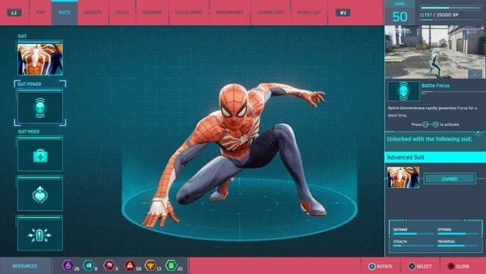 marvel's spider-man combat suit mod guide first aid loadout