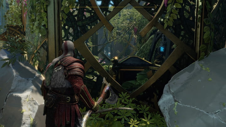 god of war nornir chests collectibles guide 12 alfheim ringed temple exit