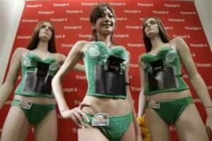 awful ways to charge your phone Triumph Solar Bra