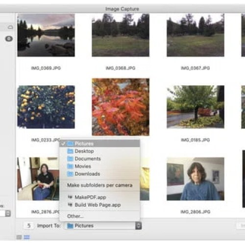 Delete photos on your iPhone using a Mac