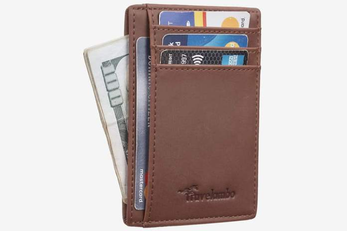 portable tech gadgets RFID wallet