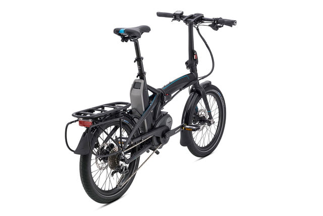 The Vektron folding ebike sets up fast and has an 80-mile