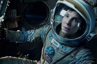 Sandra Bullock as Ryan Stone in Gravity