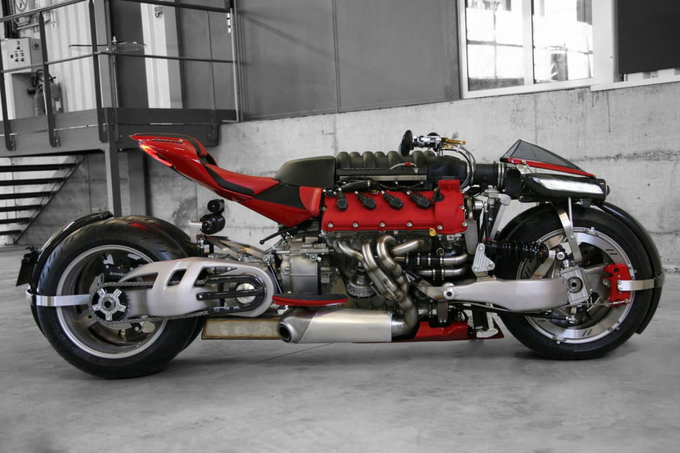 lazereth maserati powered motorcycle