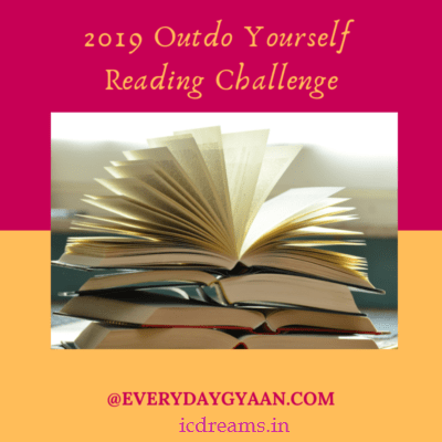 2019 Outdo Yourself Reading Challenge w/ Everyday Gyaan