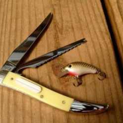 Рыбацкий нож: плавающий, складной, с зубцами для чистки рыбы