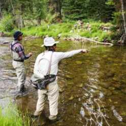 Зимняя рыбалка на малых реках