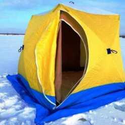 """Зимние палатки """"Медведь"""": виды и отзывы"""