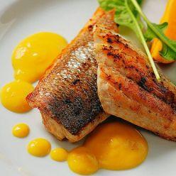 Рыба с арахисовым соусом