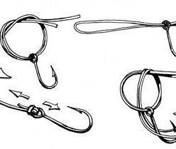 Как вязать рыболовные узлы для крючков и поводков?