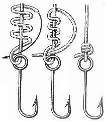 Рыболовный узел для крючка. Рыбацкие узлы для крючков и поводков