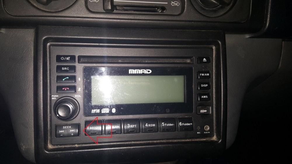 medium resolution of mitsubishi adventure stereo seek button