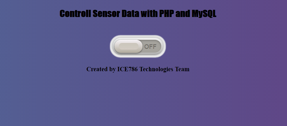 How to control DHT11 sensor data with PHP and MySQL | ICE786