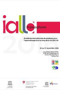 Affiche IALLA 2016