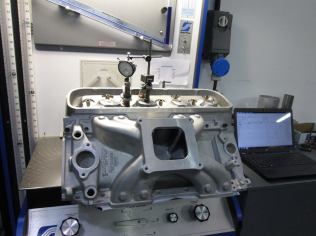 Big block Chevrolet Intake manifold development